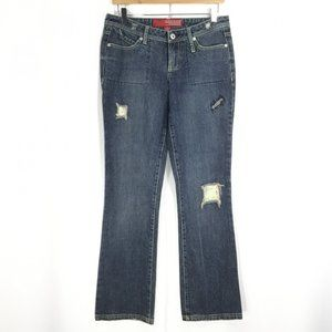 GUESS JEANS | 81 Distressed Straight Leg